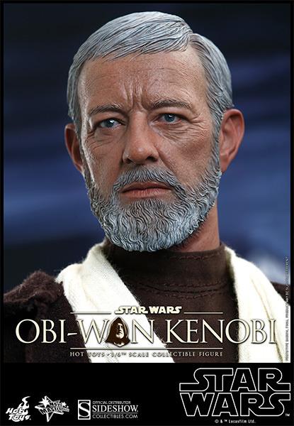 Hot Toys Star Wars ANH 1/6th Obi Wan Kenobi Figure Obi_1410