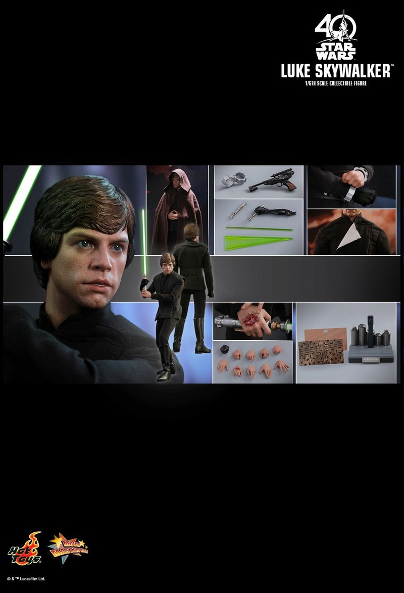 Hot Toys Star Wars: ROTJ - 1/6th scale Luke Skywalker Pd149924
