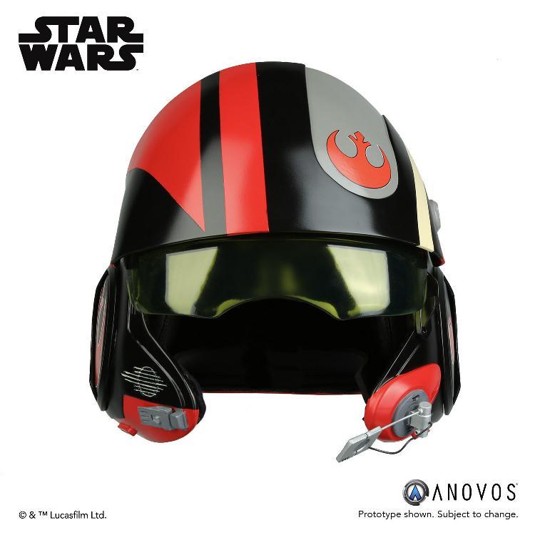 ANOVOS - STAR WARS Poe Dameron Black Squadron Helmet  Poe_da10