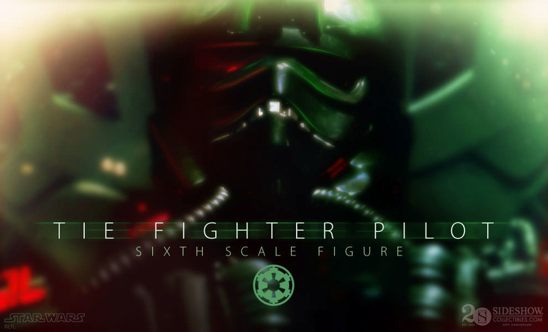 Sideshow - TIE Fighter Pilot Sixth Scale Figure Previe10