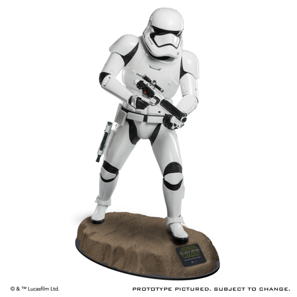 STAR WARS TFA First Order Stormtrooper Life-Size Statue Produc10