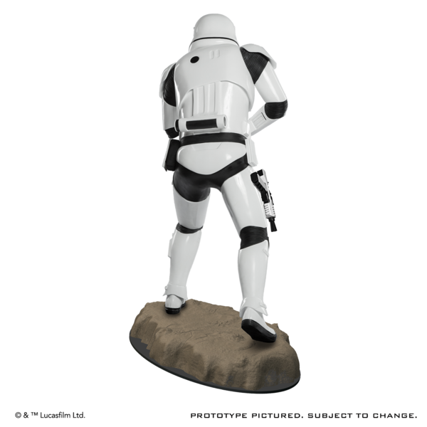 STAR WARS TFA First Order Stormtrooper Life-Size Statue Produc11
