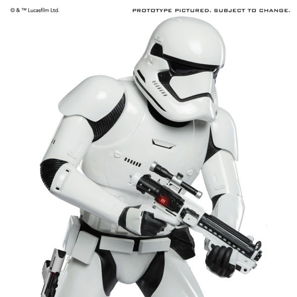 STAR WARS TFA First Order Stormtrooper Life-Size Statue Produc18