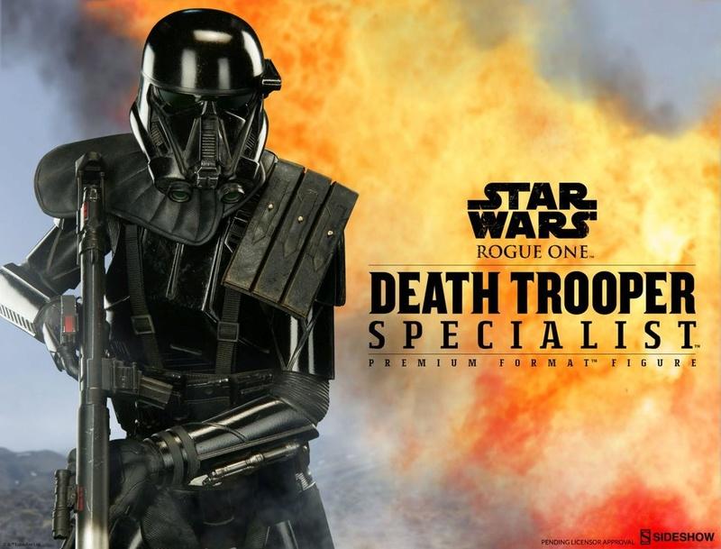 Sideshow - Death Trooper Specialist Premium Format Figure Protot10