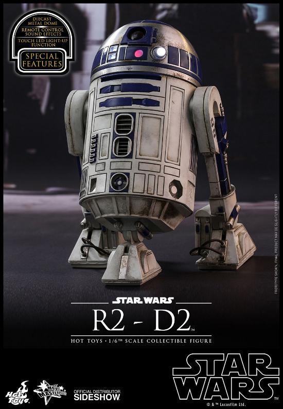 Hot Toys - R2-D2 Sixth Scale Figure R2-d2-10