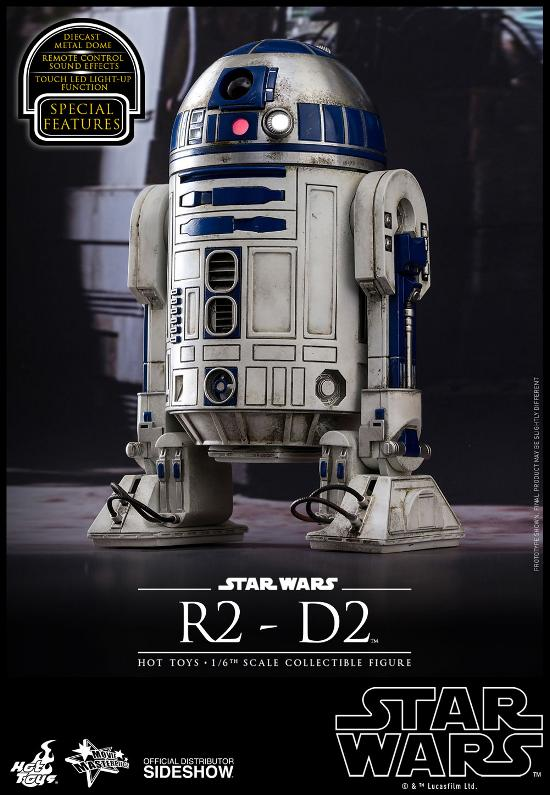 Hot Toys - R2-D2 Sixth Scale Figure R2-d2-11