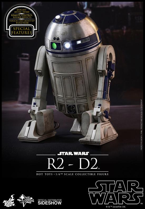 Hot Toys - R2-D2 Sixth Scale Figure R2-d2-12