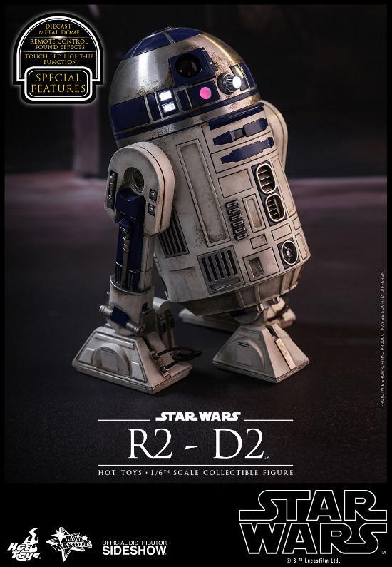 Hot Toys - R2-D2 Sixth Scale Figure R2-d2-13