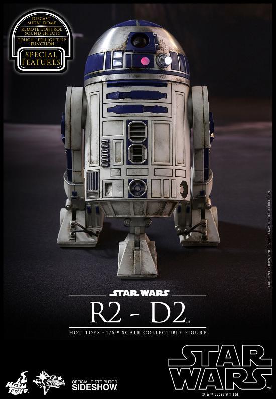 Hot Toys - R2-D2 Sixth Scale Figure R2-d2-14
