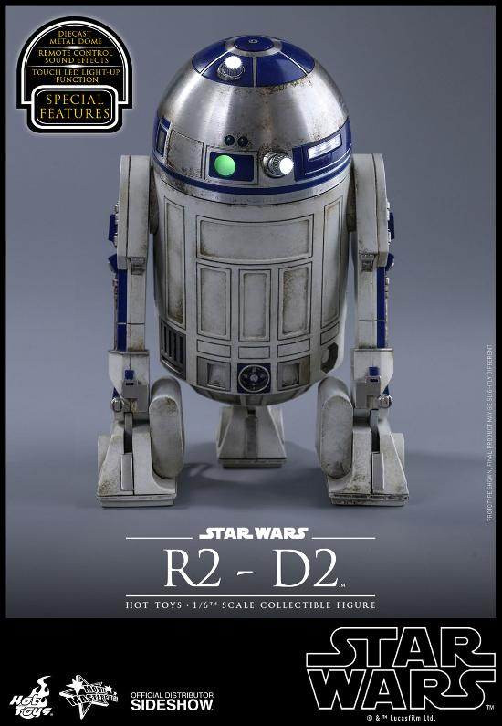 Hot Toys - R2-D2 Sixth Scale Figure R2-d2-15