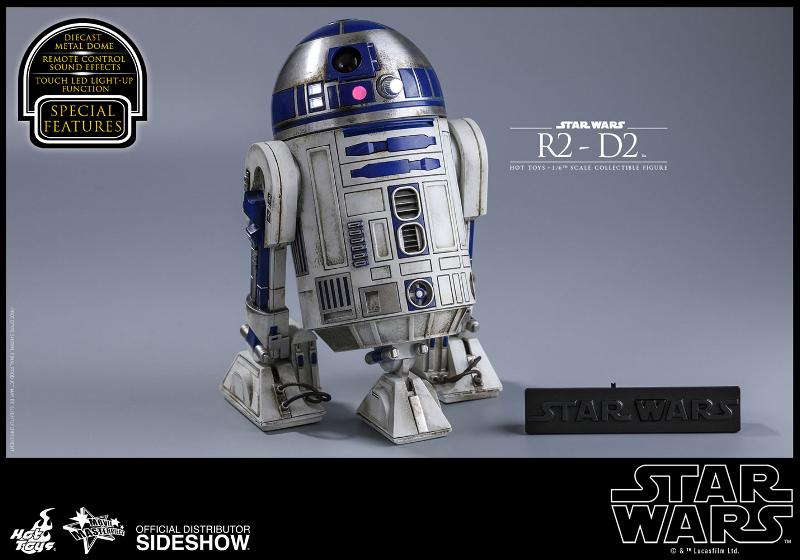 Hot Toys - R2-D2 Sixth Scale Figure R2-d2-16