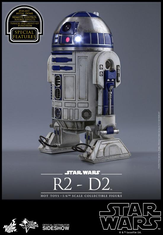 Hot Toys - R2-D2 Sixth Scale Figure R2-d2-17
