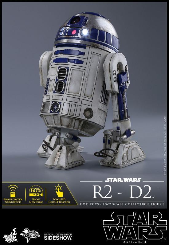 Hot Toys - R2-D2 Sixth Scale Figure R2-d2-18