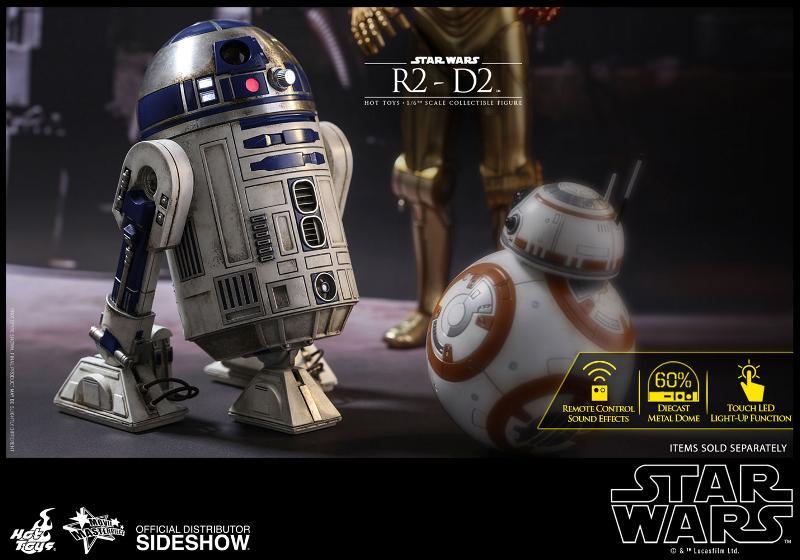 Hot Toys - R2-D2 Sixth Scale Figure R2-d2-19