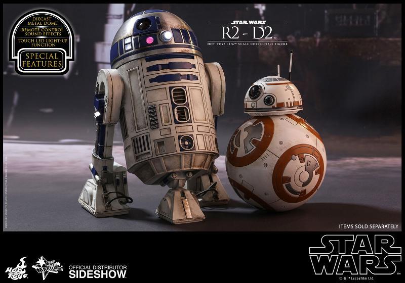Hot Toys - R2-D2 Sixth Scale Figure R2-d2-20