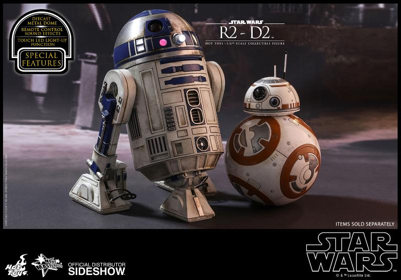 Hot Toys - R2-D2 Sixth Scale Figure R2-d2-21