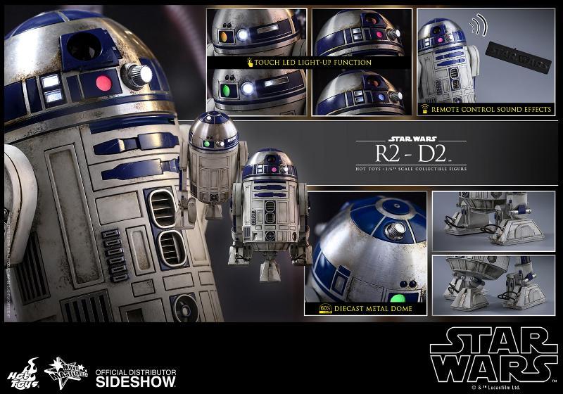 Hot Toys - R2-D2 Sixth Scale Figure R2-d2-22