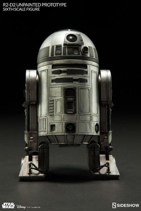 Sideshow - R2-D2 'Unpainted Prototype' Sixth Scale Figure R2d2_c10