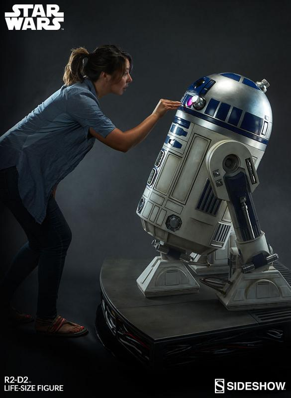 Sideshow Collectibles - R2-D2 Life-Size Figure R2d2_l11
