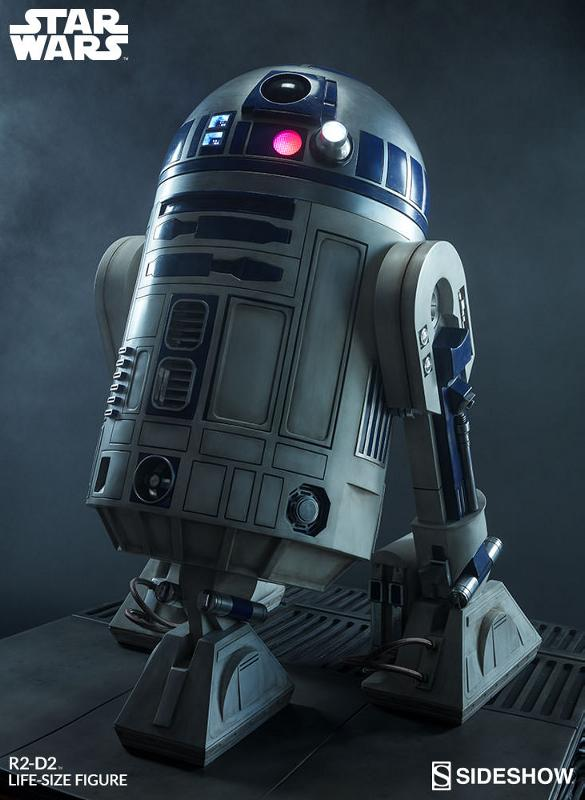 Sideshow Collectibles - R2-D2 Life-Size Figure R2d2_l14