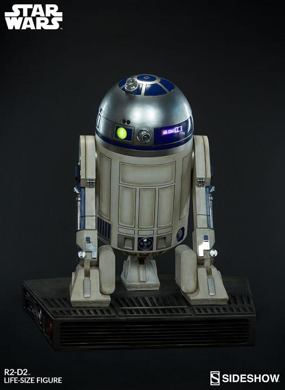 Sideshow Collectibles - R2-D2 Life-Size Figure R2d2_l15