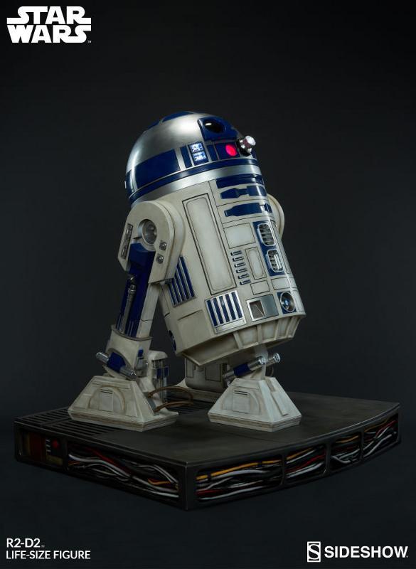 Sideshow Collectibles - R2-D2 Life-Size Figure R2d2_l16