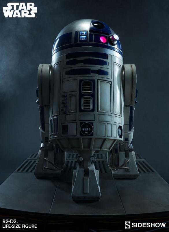 Sideshow Collectibles - R2-D2 Life-Size Figure R2d2_l17