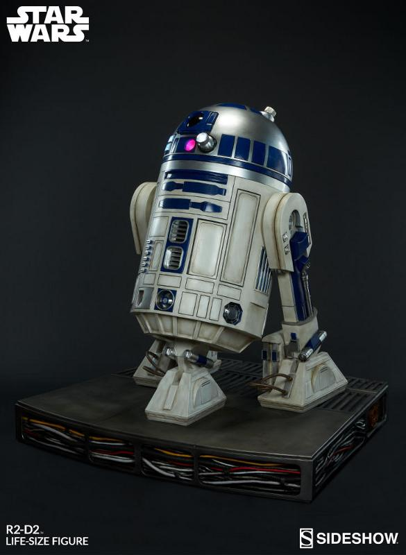 Sideshow Collectibles - R2-D2 Life-Size Figure R2d2_l18