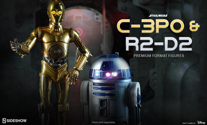 Sideshow Collectibles C-3PO & R2-D2 Premium Format Figures R2d2c310
