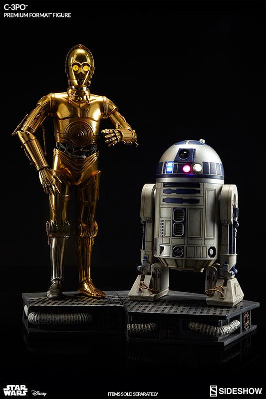 Sideshow Collectibles C-3PO & R2-D2 Premium Format Figures R2d2c313