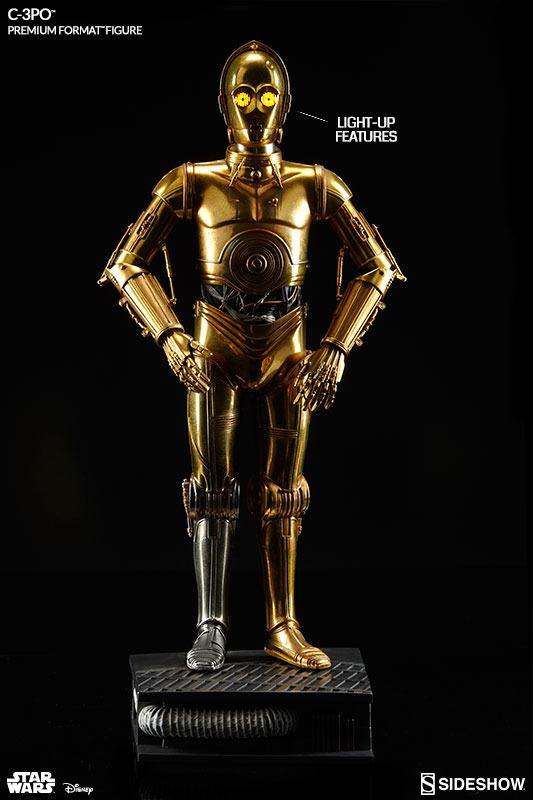 Sideshow Collectibles C-3PO & R2-D2 Premium Format Figures R2d2c314