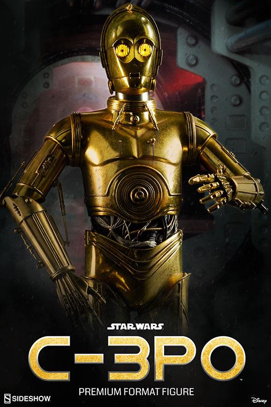 Sideshow Collectibles C-3PO & R2-D2 Premium Format Figures R2d2c315