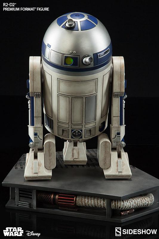 Sideshow Collectibles C-3PO & R2-D2 Premium Format Figures R2d2c319