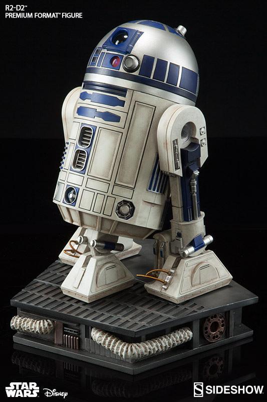 Sideshow Collectibles C-3PO & R2-D2 Premium Format Figures R2d2c320
