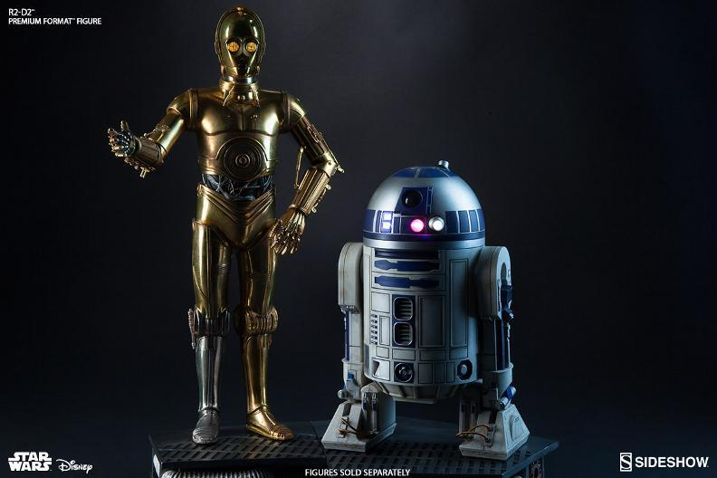Sideshow Collectibles C-3PO & R2-D2 Premium Format Figures R2d2c324