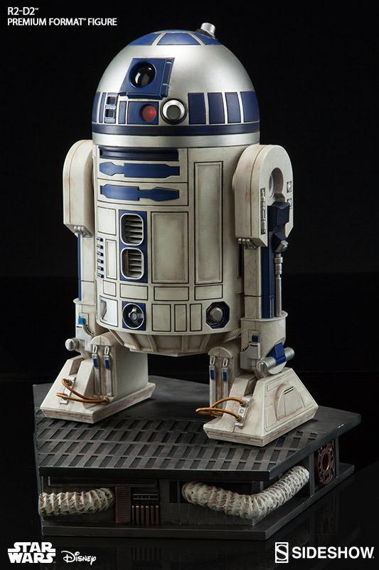 Sideshow Collectibles C-3PO & R2-D2 Premium Format Figures R2d2c325