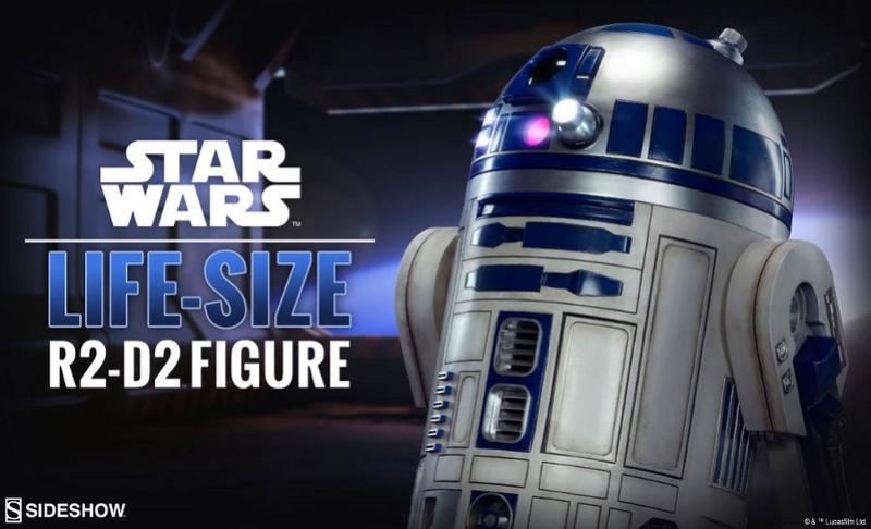 Sideshow Collectibles - R2-D2 Life-Size Figure R2d2li10
