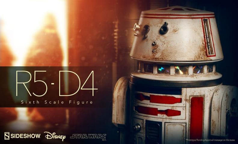 Sideshow Collectibles - R5-D4 Sixth Scale Figure  R5d41_10