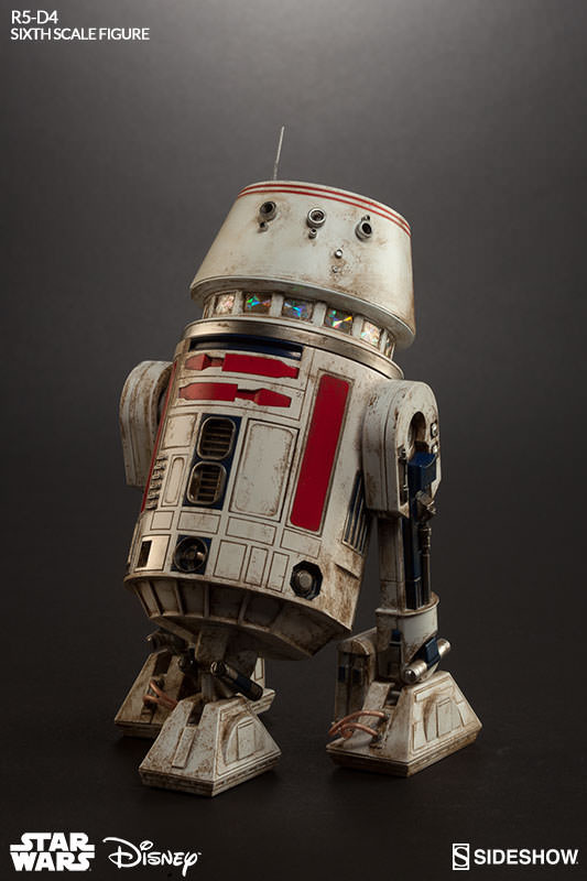 Sideshow Collectibles - R5-D4 Sixth Scale Figure  R5d4_010