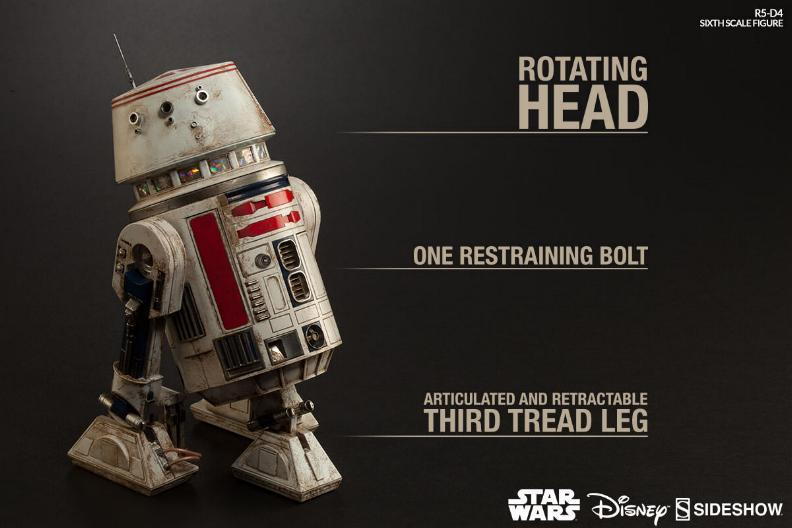 Sideshow Collectibles - R5-D4 Sixth Scale Figure  R5d4_011