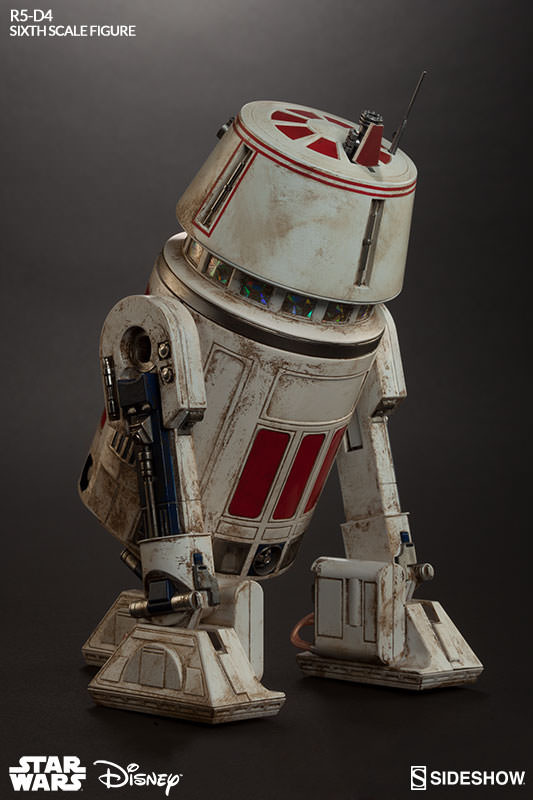 Sideshow Collectibles - R5-D4 Sixth Scale Figure  R5d4_012