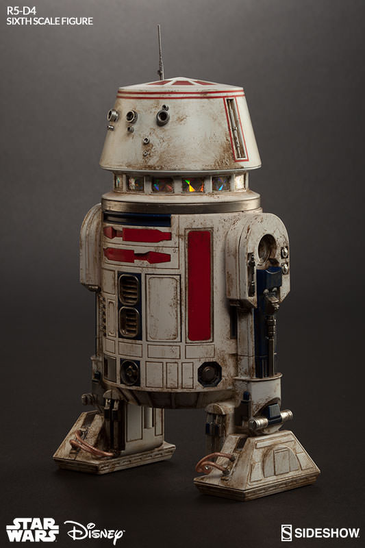 Sideshow Collectibles - R5-D4 Sixth Scale Figure  R5d4_013