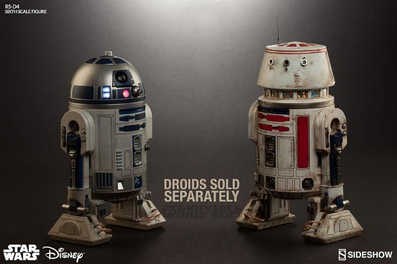 Sideshow Collectibles - R5-D4 Sixth Scale Figure  R5d4_015