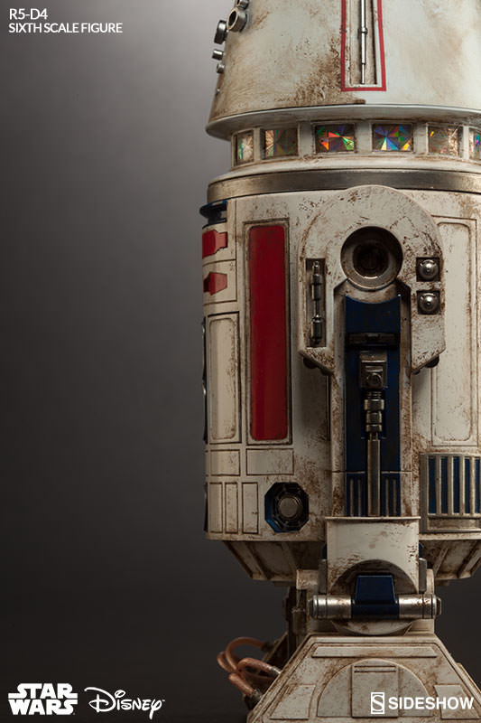 Sideshow Collectibles - R5-D4 Sixth Scale Figure  R5d4_016