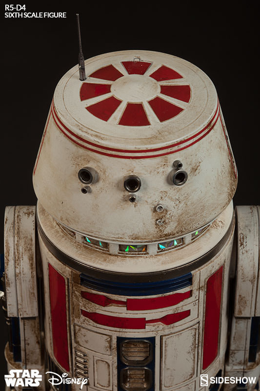 Sideshow Collectibles - R5-D4 Sixth Scale Figure  R5d4_017