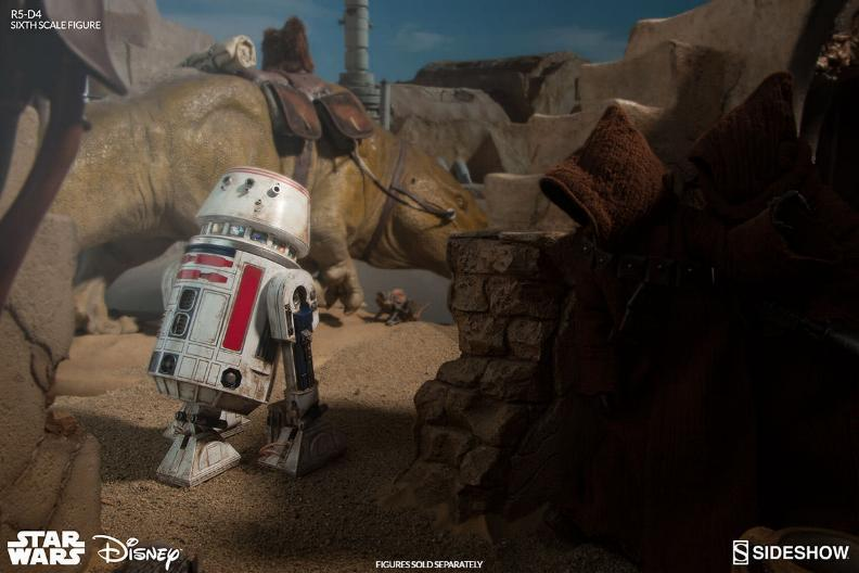 Sideshow Collectibles - R5-D4 Sixth Scale Figure  R5d4_018