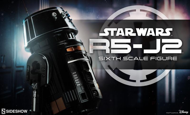 Sideshow - R5-J2 Imperial Astromech Droid Sixth Scale Figure R5j2_010