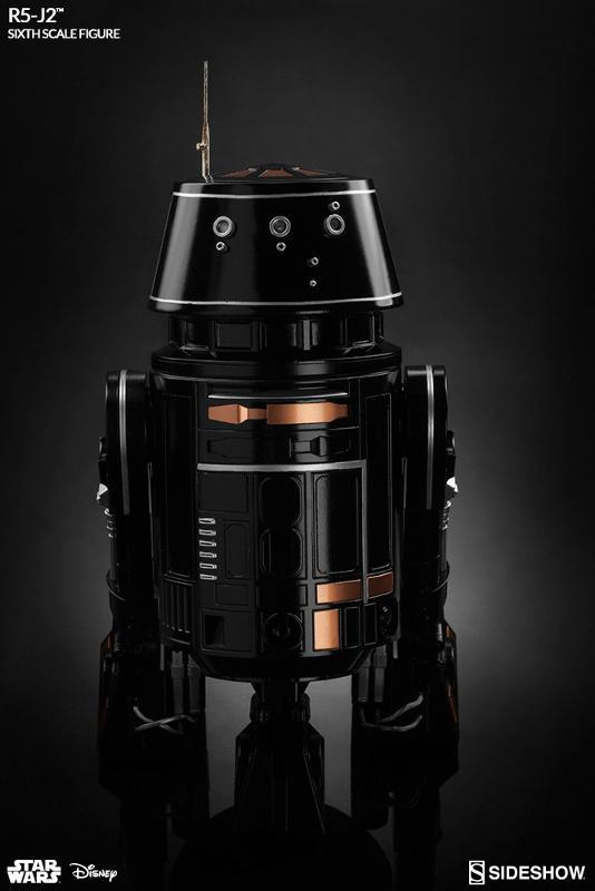 Sideshow - R5-J2 Imperial Astromech Droid Sixth Scale Figure R5j2_017