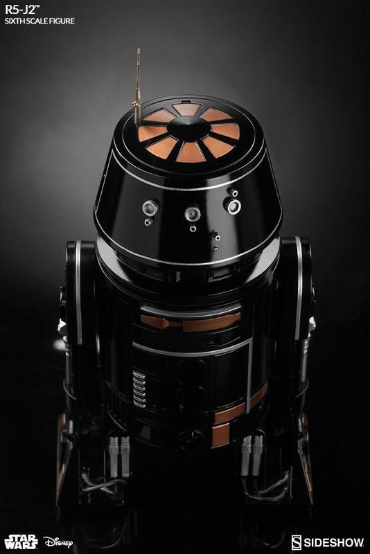 Sideshow - R5-J2 Imperial Astromech Droid Sixth Scale Figure R5j2_111