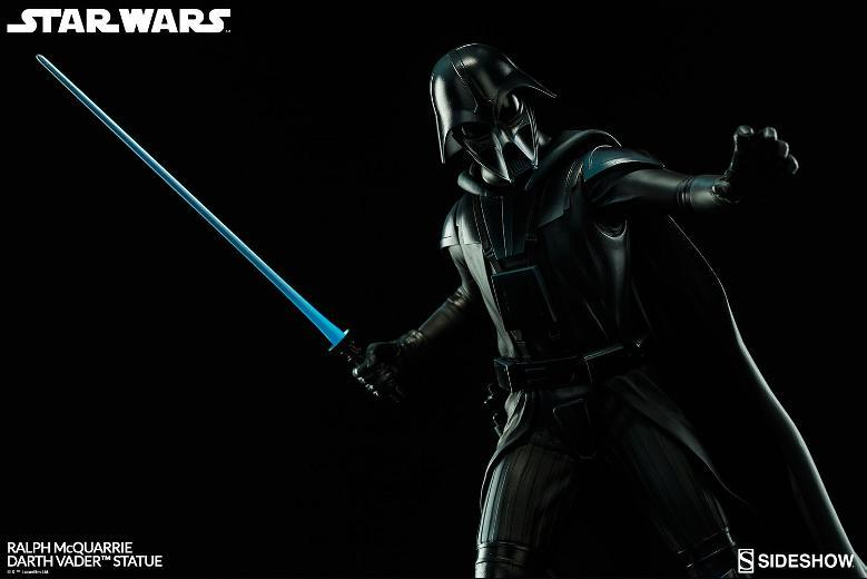 Sideshow Collectibles - Ralph McQuarrie Darth Vader Statue Ralph-10